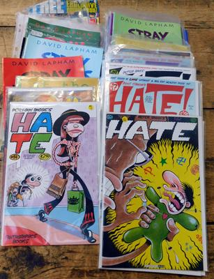 Collection of comic books, various titles