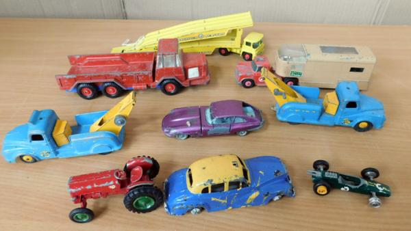 Collection of 1950/60s diecast, Dinky, Corgi, Budgie
