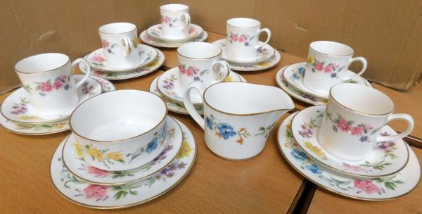 Collection of Royal Worcester, Kentmere pattern ceramics