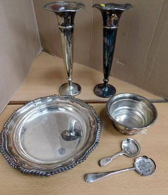 Selection of fine silver plate