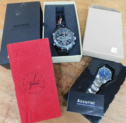 2 new boxed watches - Accurist and Weode