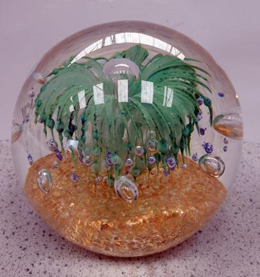 Large decorative paperweight