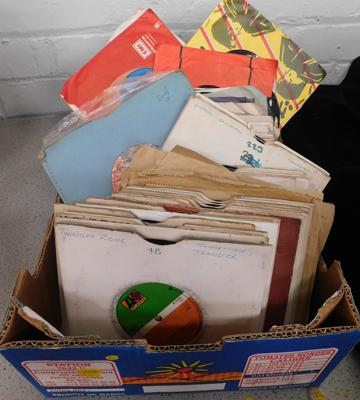 Box of assorted mixed singles