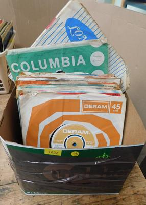 Records - 50 1960s singles, original sleeves