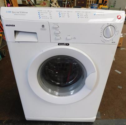 Hoover 1300 special edition washing machine w/o