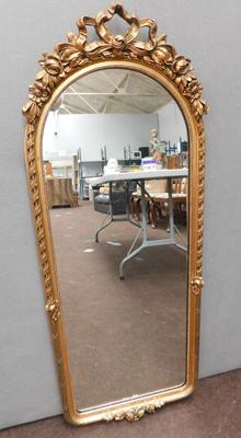 "Ornate mirror approx 42"" tall overall"