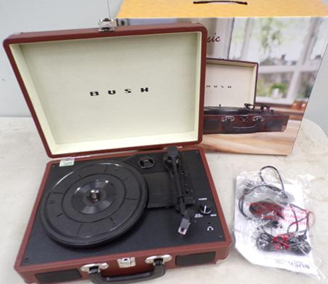 Bush classic record player (as new) w/o