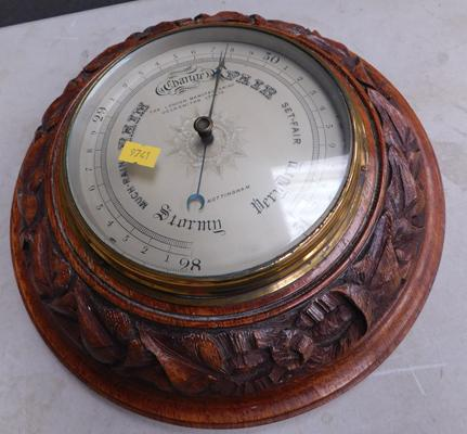 Barometer The London Manufacturing Goldsmiths Co Ltd
