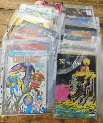 Collection of mixed comic books, various titles
