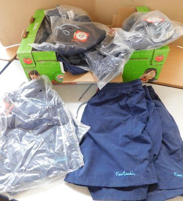 Box of Pierre Cardin mens shorts