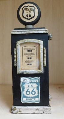 "Route 66 wooden key box (19"" tall)"