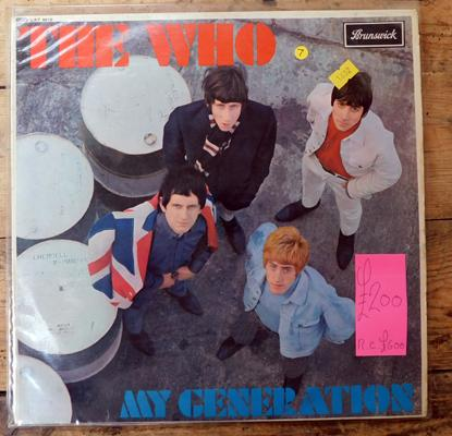 LP - The Who My Generation