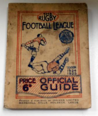 1924-5 Rugby football League official guide