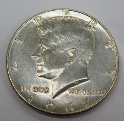 US silver coin