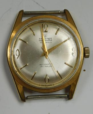 Rare Allaine Swiss yellow metal 30 jewels automatic watch