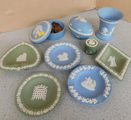 Assortment of Wedgwood Jasperware