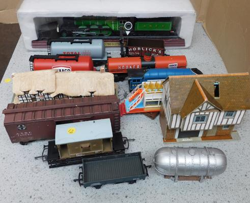 Assortment of trains, carriages etc