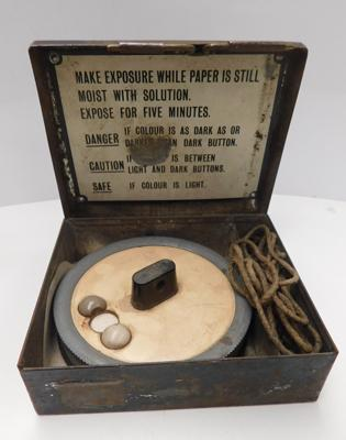 WWI/WWII gas detector kit