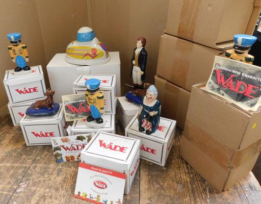 Large box of  (as new) Wade figures