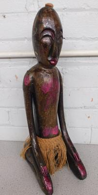 "African carved figure approx 21"" tall"