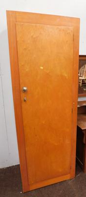 Retro single Liden wardrobe, approx. 66 inches tall