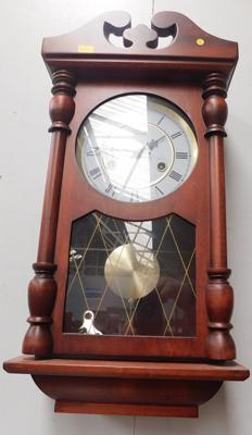 Lincoln 31 day wall clock with key
