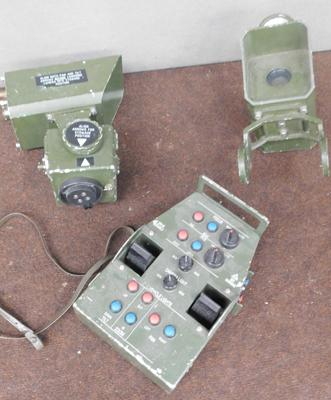 Military camera video lights & controller