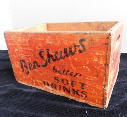 Ben Shaws original bottle box approx 15x9""