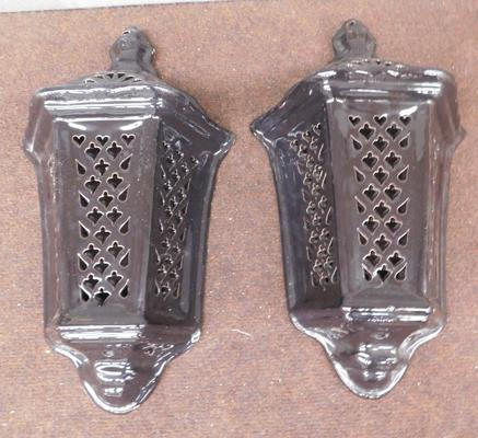 2x Wall sconces/lights