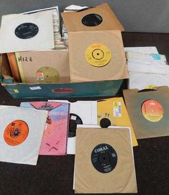 150+ 60s, 70s & 80s singles inc Beatles, Scott Mckenzie & Buddy Holly