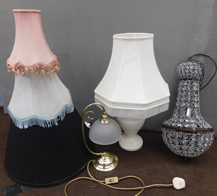 Selection of lamps & shades