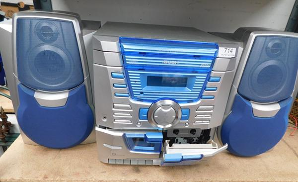 Bush stereo system & speakers (as seen)
