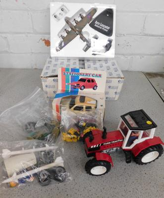 Selection of collectable toys inc Atlas plane, Lego figures etc