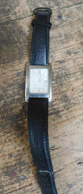 Gents Accurist wristwatch (date adjust) - W/O