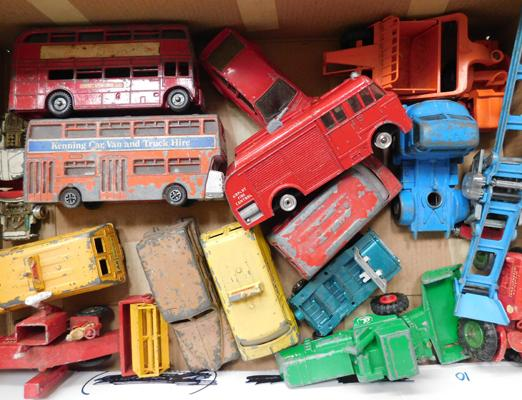 Collection of vintage Dinky, Corgi & Matchbox diecast