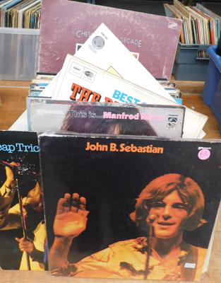 Selection of collectable records - LPs, Pop, Reggae & Rock & Roll
