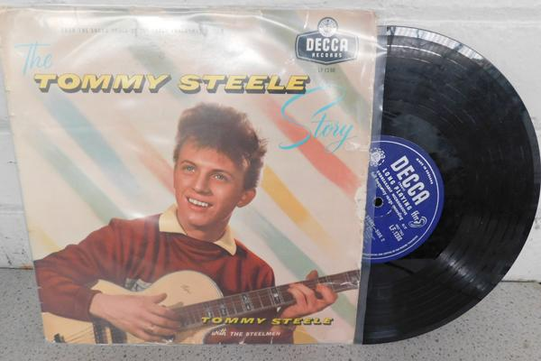 LP original 10 inch, Tommy Steele Story