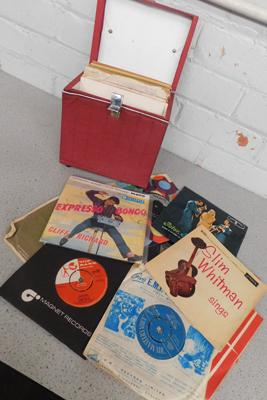 Case of mixed 45 inch singles, incl. Roy Orbison