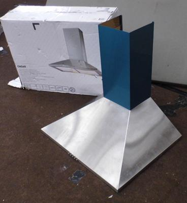 New/unused boxed kitchen oven chimney hood