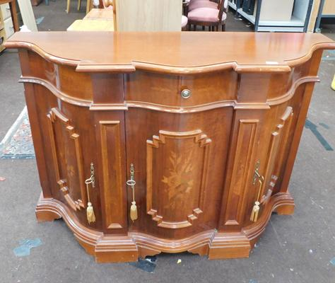 Inlaid side unit /cabinet