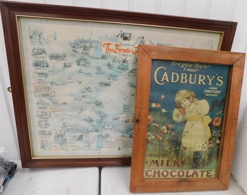 Bronte country picture & Cadbury picture