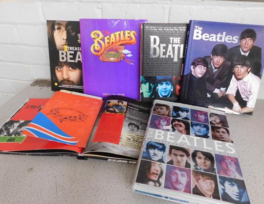 5x Music memorabilia books inc posters etc