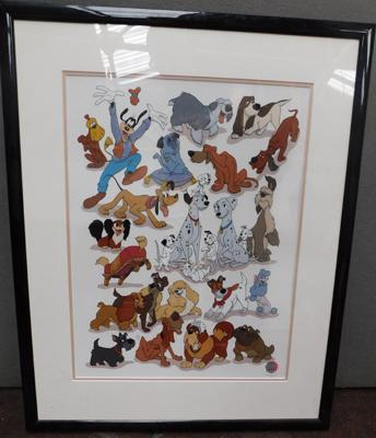 Ltd Edition Walt Disney framed print