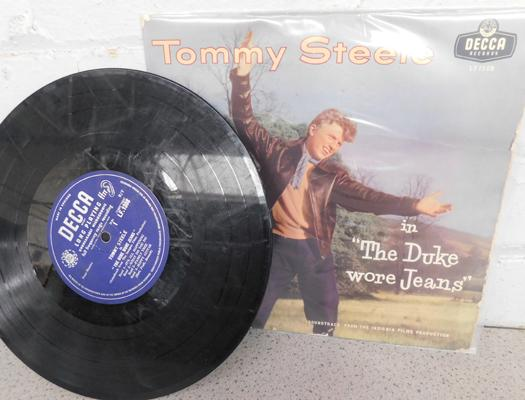 LP original 10 inch, Tommy Steele, Duke Wore Jeans