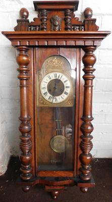 Large long cased clock for restoration