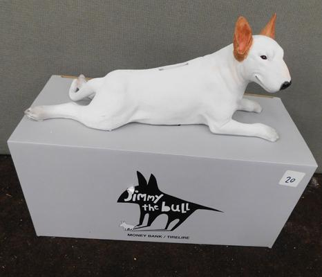 New Jimmy the Bull bulldog statue