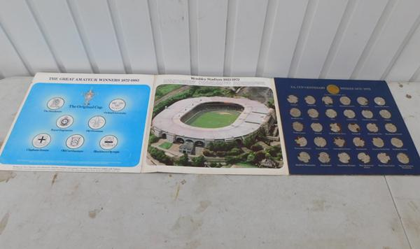 FA cup medals (1872-1972) coin set
