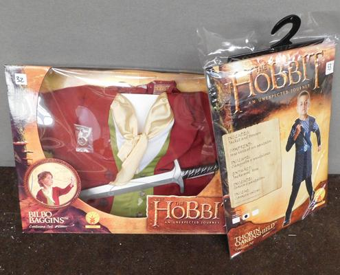Two new/sealed Hobbit dressing up costumes