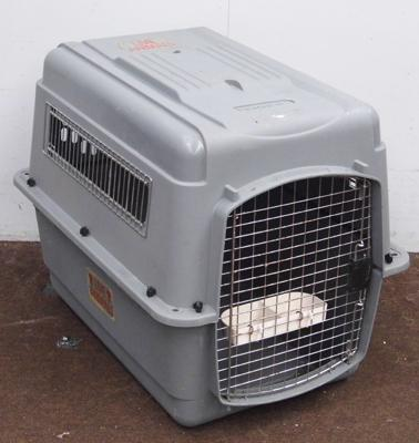 Dog travel cage for medium sized dog
