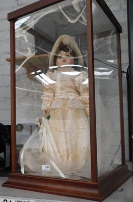 Franklin mint Ltd edition bridal doll